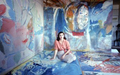 Helen Frankenthaler e i campi di colori